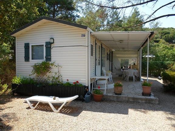 Location - Cottage Espace D - 2 Chambres - Sans Climatisation - 32M² À 37M² - Camping Castel Domaine de la Bergerie