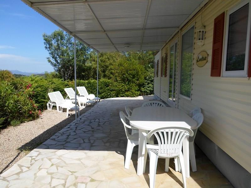 Location - Cottage Espace D - 3 Chambres - Climatisation - 39M² - Camping Castel Domaine de la Bergerie