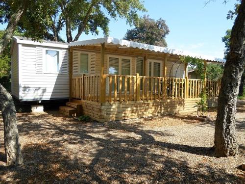 Location - Cottage Espace A - 3 Chambres - Climatisation - 39M² À 40M² - Camping Castel Domaine de la Bergerie