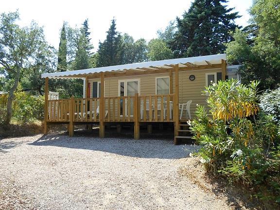 Location - Privilège B - 2 Chambres - 32M² - Camping Castel Domaine de la Bergerie