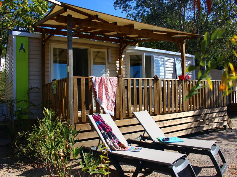 Accommodation - Mobile-Home Ciela Confort - 30M² -  2 Bedrooms - Air Conditioning - Tv - Camping Le Pommier