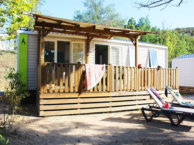 Accommodation - Mobile-Home Ciela Confort New - 34M² - 3 Bedrooms - Air Conditioning - Tv - Camping Le Pommier