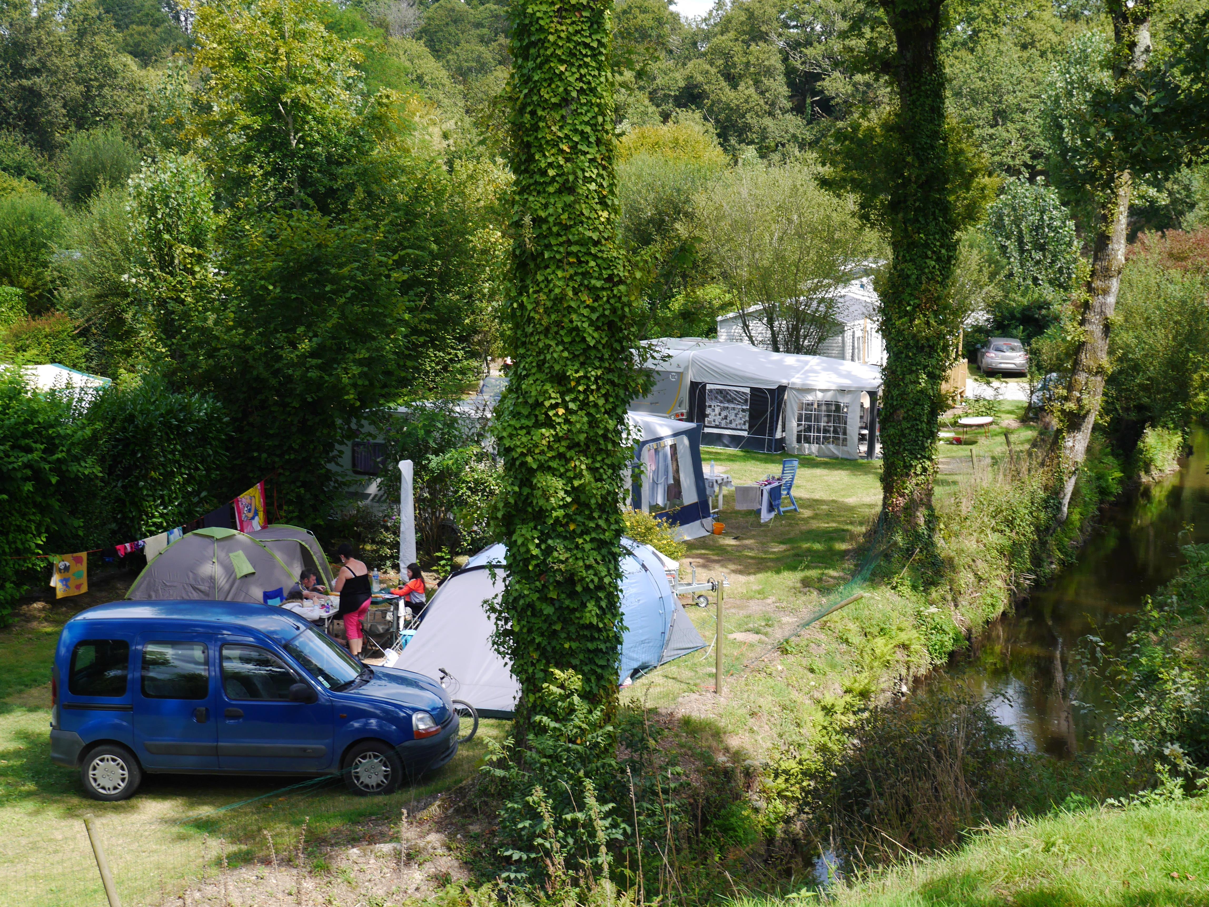 Camping Moulin de Cadillac, Noyal-Muzillac, Morbihan