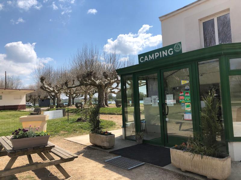 Camping Municipal, Thoissey, Ain