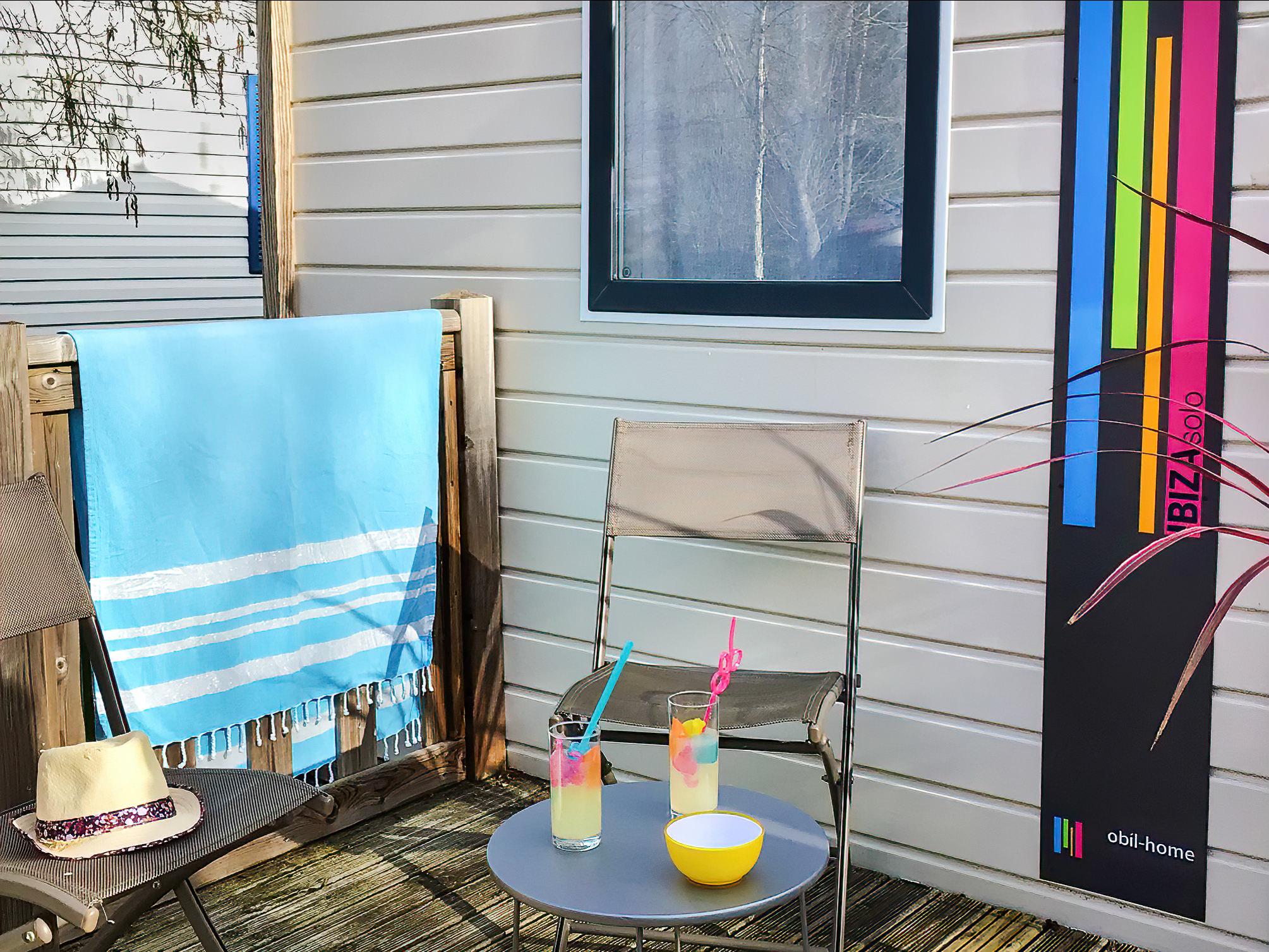 Location - Mobil Home 1 Chambre Confort - Camping Le Moulin des Oies