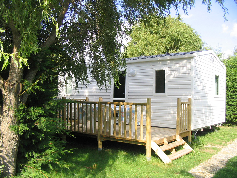 Location - Mobilhome '2 Chambres Standart' - Camping Le Moulin des Oies