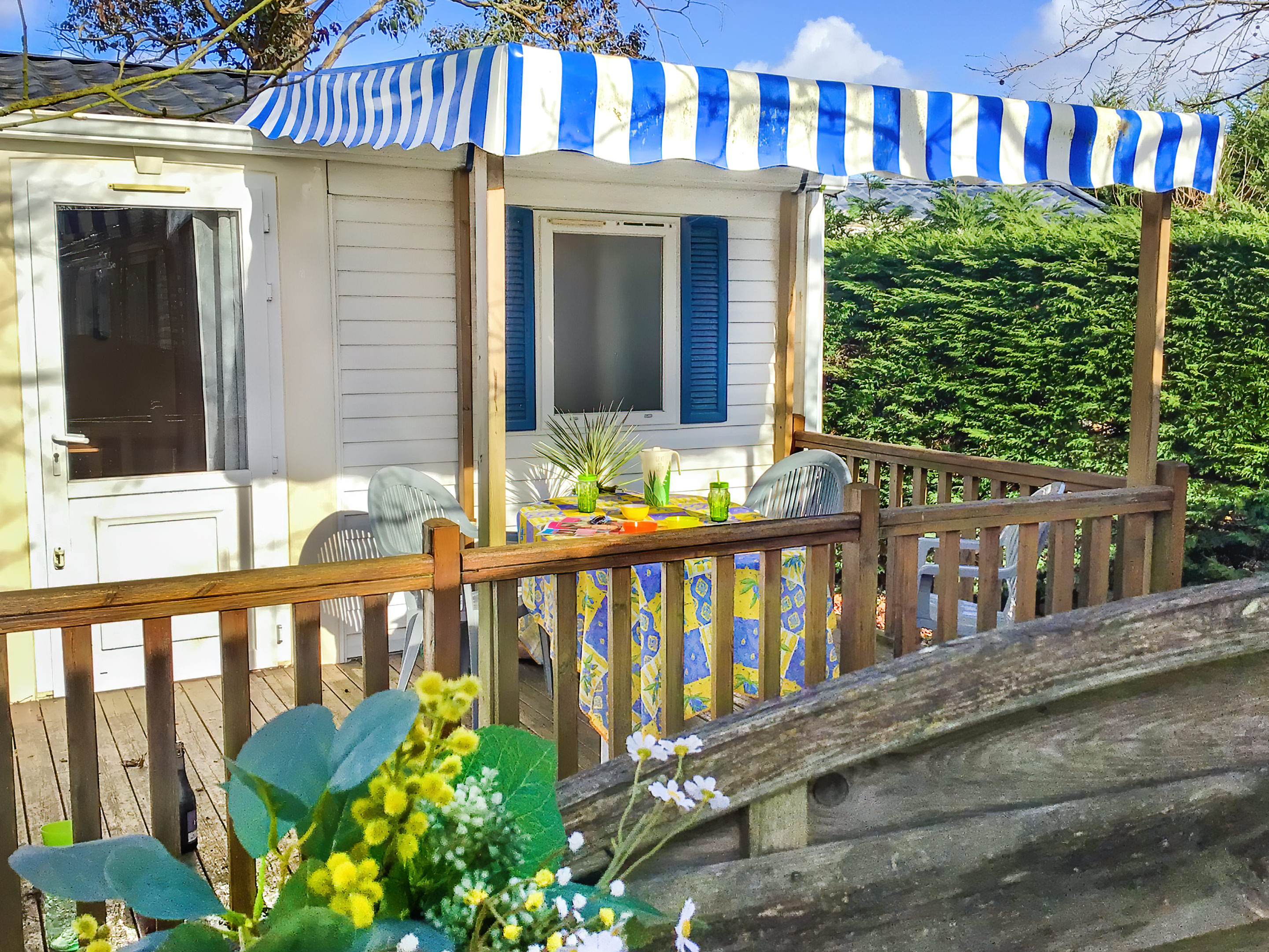Location - Mobilhome '2 Chambres Confort' - Camping Le Moulin des Oies