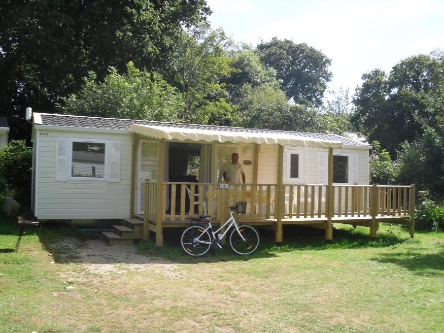Location - Mobil-Home Evolution Premium 39M² (4 Chambres) + Terrasse 19M² - - Camping de Kerleyou