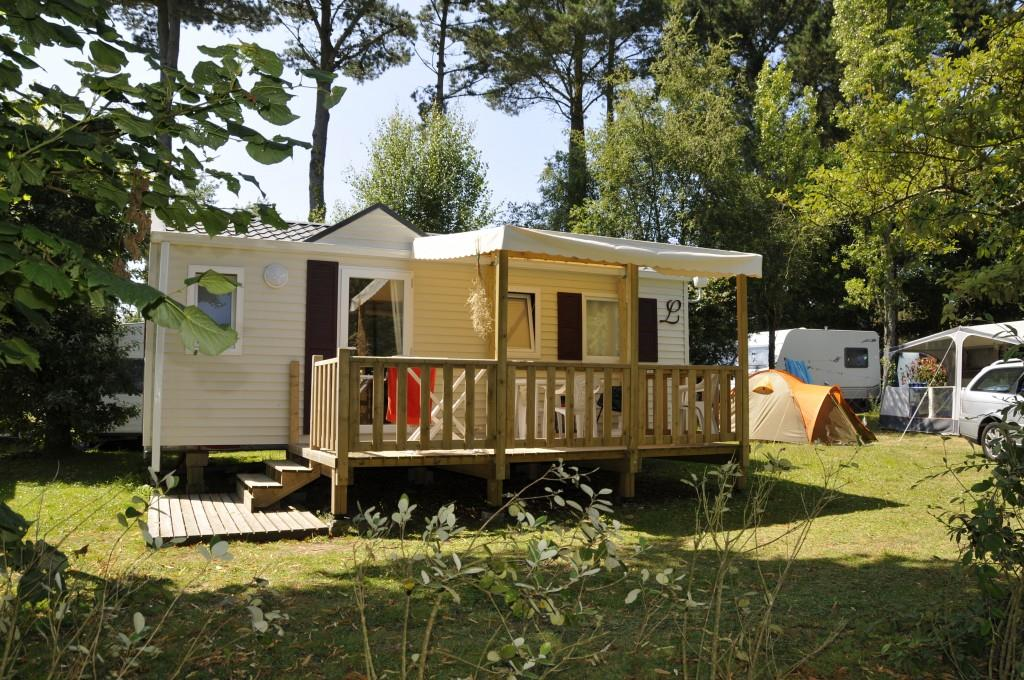 Mobile home OCEANE CONFORT 27m² (2 bedrooms) + terrace 8 - 13m² (Saturday)