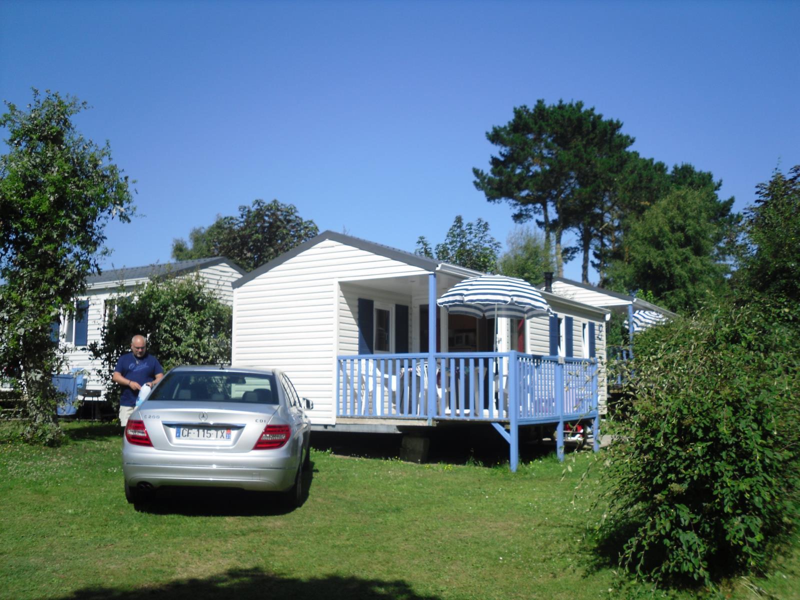 Location - Mobil Home Detente Confort  26M² (2 Chambres) + Terrasse De 8 À 13M² Semi-Couverte -D - Camping de Kerleyou