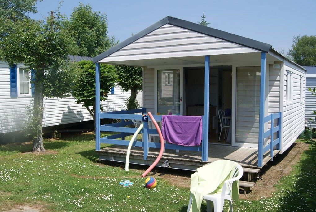 Location - Mobil-Home Relax Eco 24M² (2 Chambres) + Terrasse Couverte 8.2M² - Camping de Kerleyou