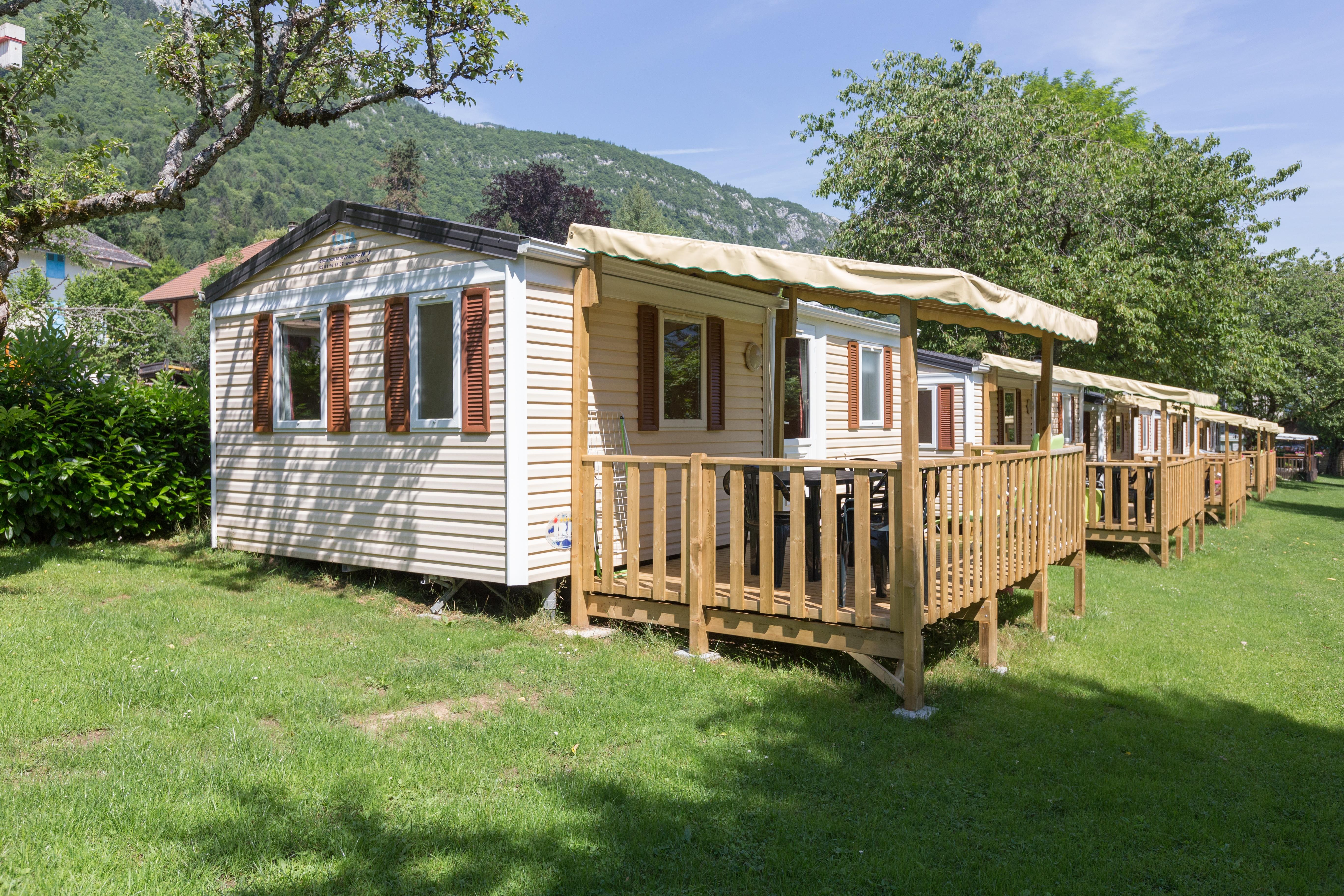 Accommodation - Mobile-Home - Camping Le Verger Fleuri