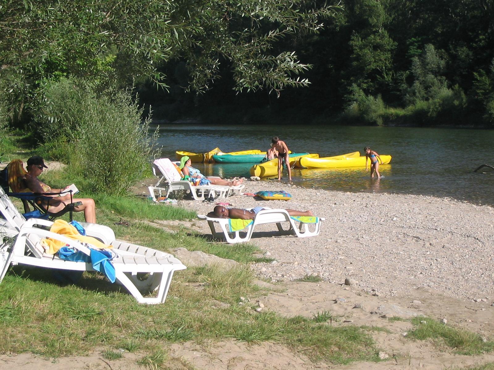 Camping le Saint-Pal, Mostuéjouls, Aveyron