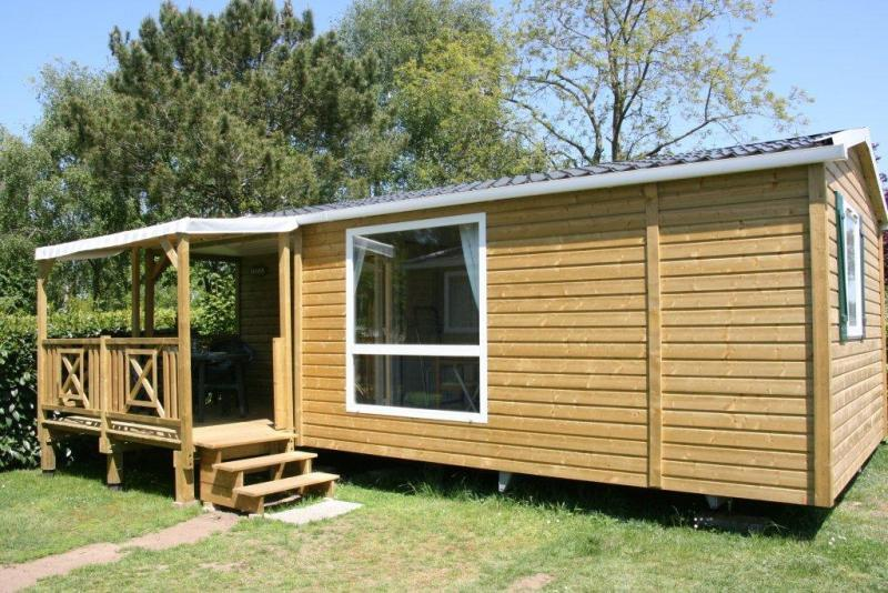 Location - Classic 28-2 (Mobil Home Loggia) - Tv, 2 Chambres, Environ 27M² - Camping Les Bruyères