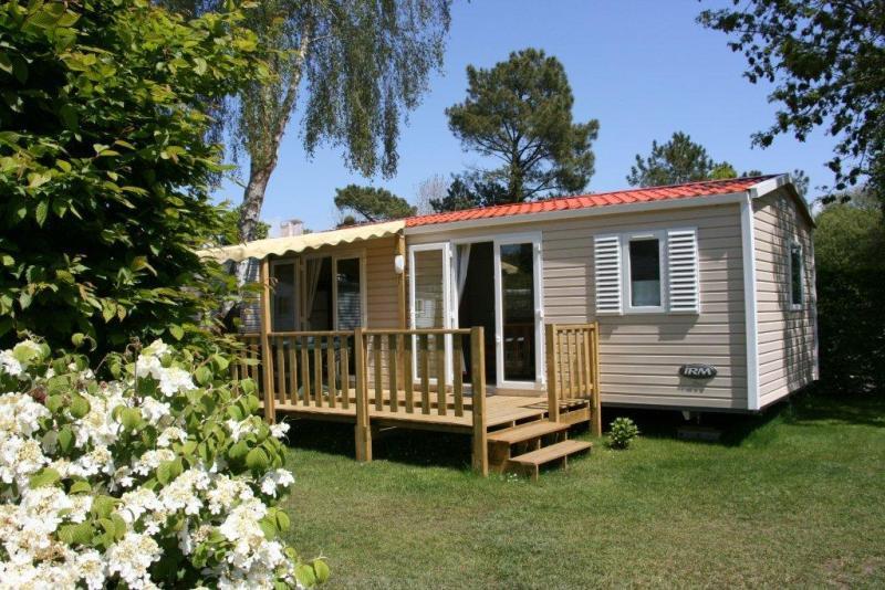 Location - Classic 30-3Ls (Mobil Home Visio) - Tv, 3 Chambres (Lits Superposés), Environ 30M² - Camping Les Bruyères