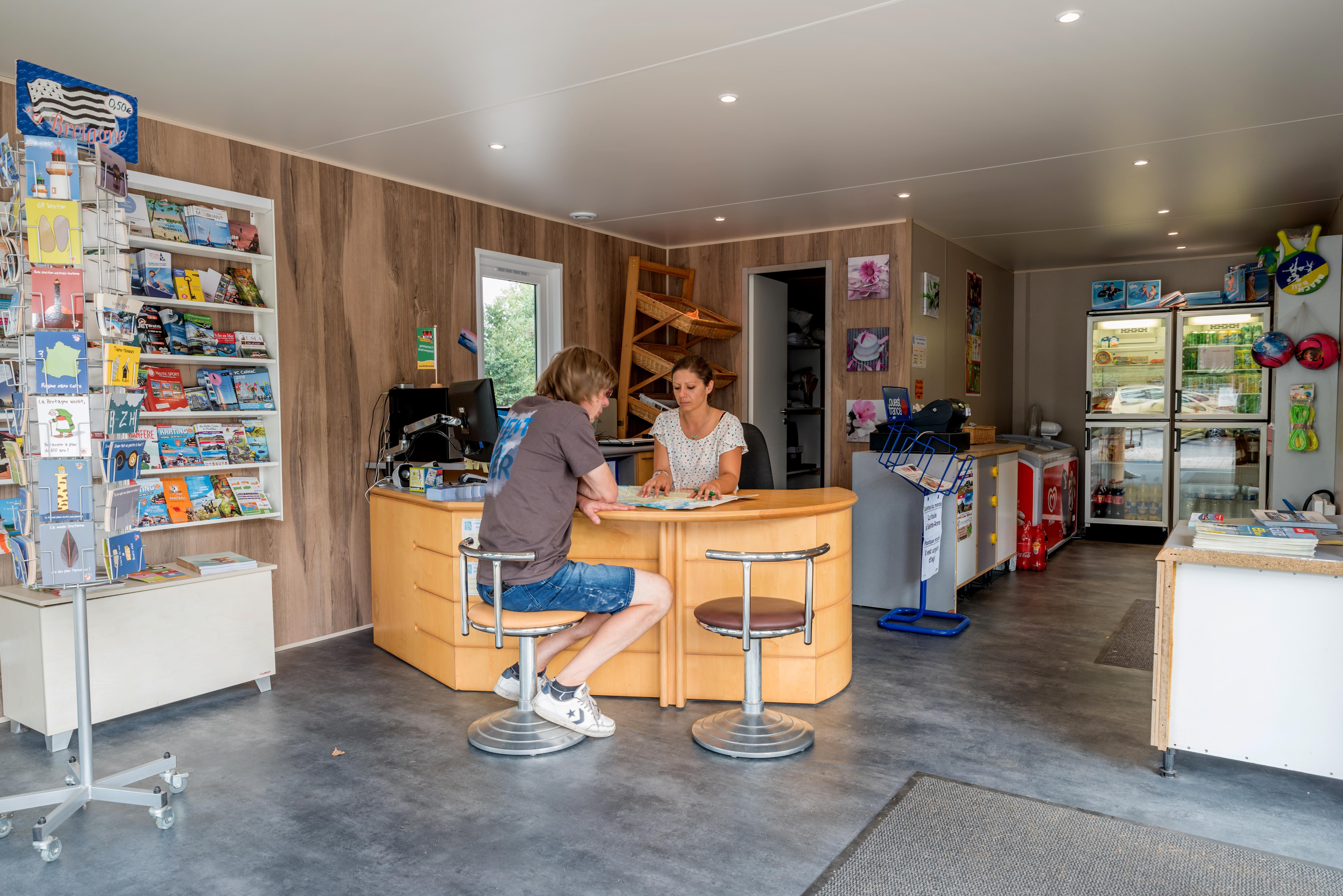Services & amenities Camping Les Bruyères - Carnac