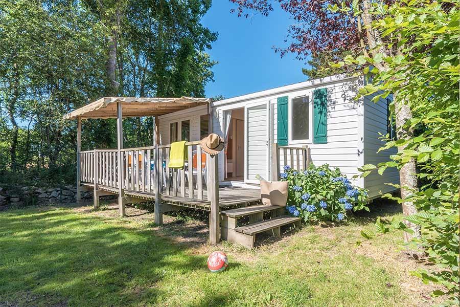 Location - Classic 27-2 (Mobil Home Riviera) - Tv, 2 Chambres (Lits Superposés), Environ 27M² - Camping Les Bruyères