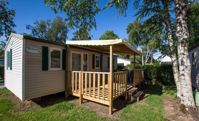 Location - Classic 30-3 (Mobil Home Visio) - Tv, 3 Chambres, Environ 30M² - Camping Les Bruyères