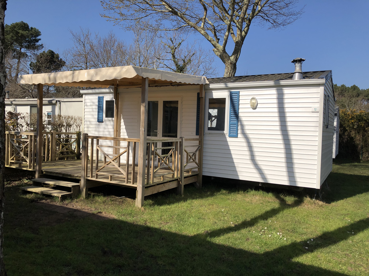 Location - Classic 26-2 (Mobil Home Ophéa) - Tv, 2 Chambres, Environ 26M² - Camping Les Bruyères