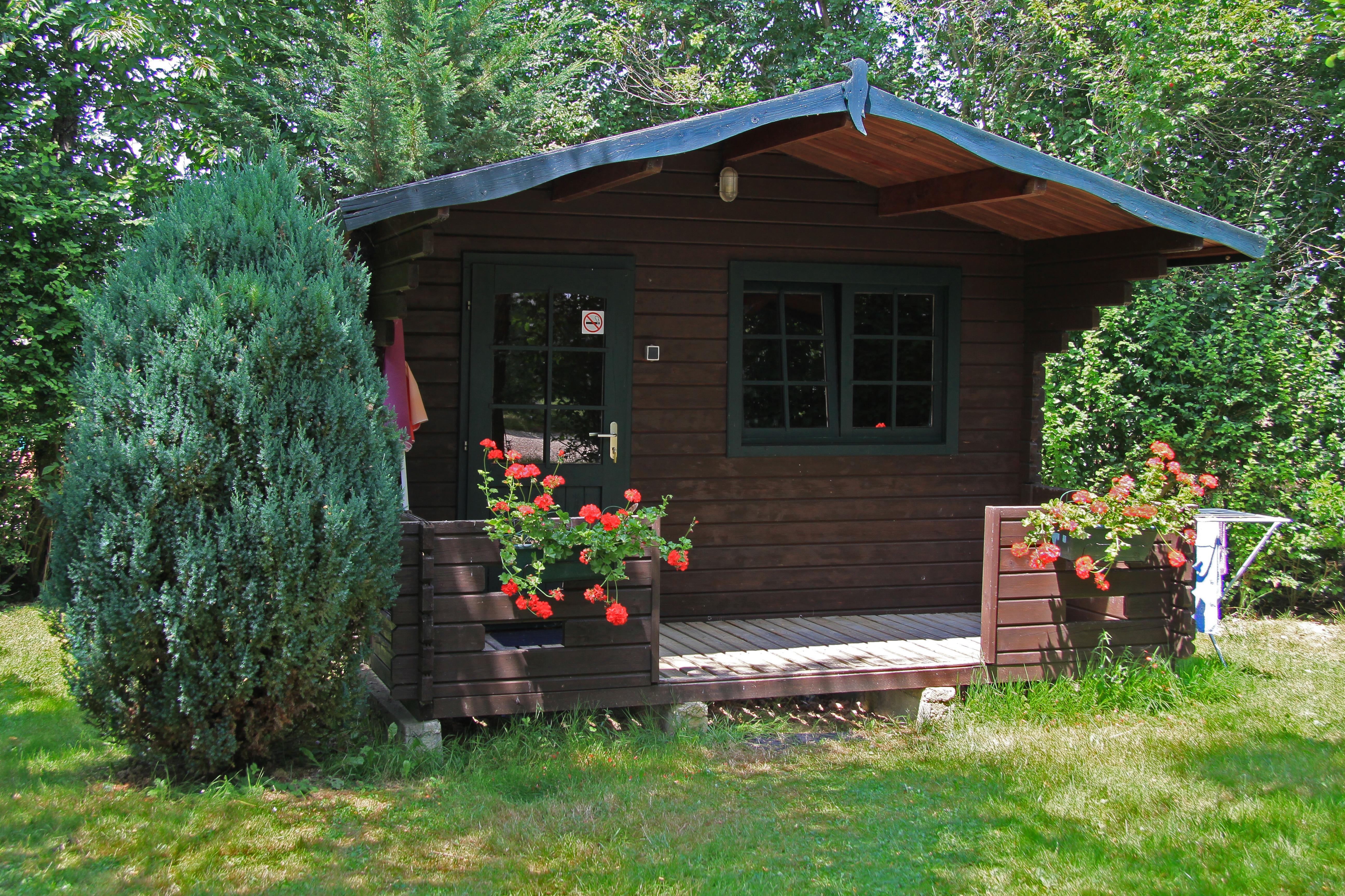 Location - Mini Chalet (Sans Sanitaire) - Camping L'Anjou