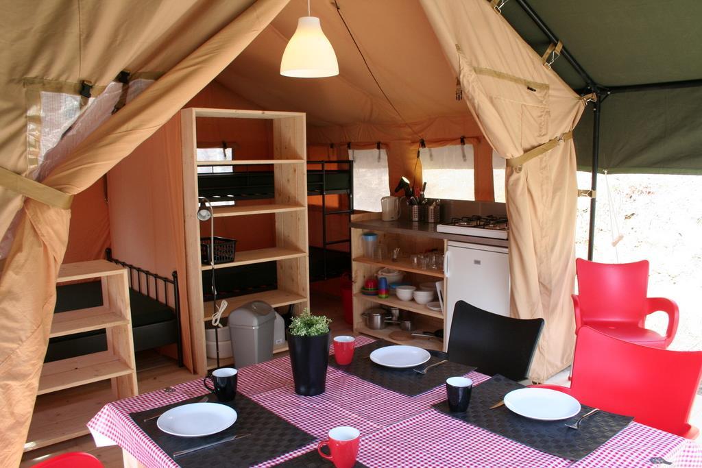 Location - Tente Safari (Sans Sanitaires) - Camping L'Anjou