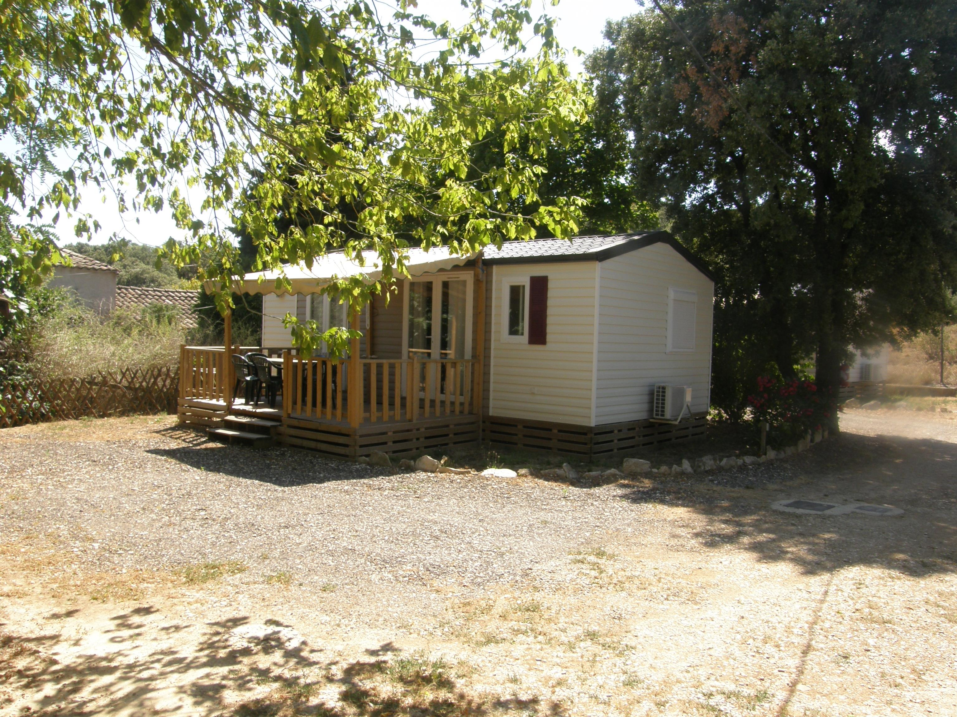 Accommodation - Mobile Home Evolution 31M² 2 Bedrooms Air-Conditioning - CAMPING LES TRUFFIERES***