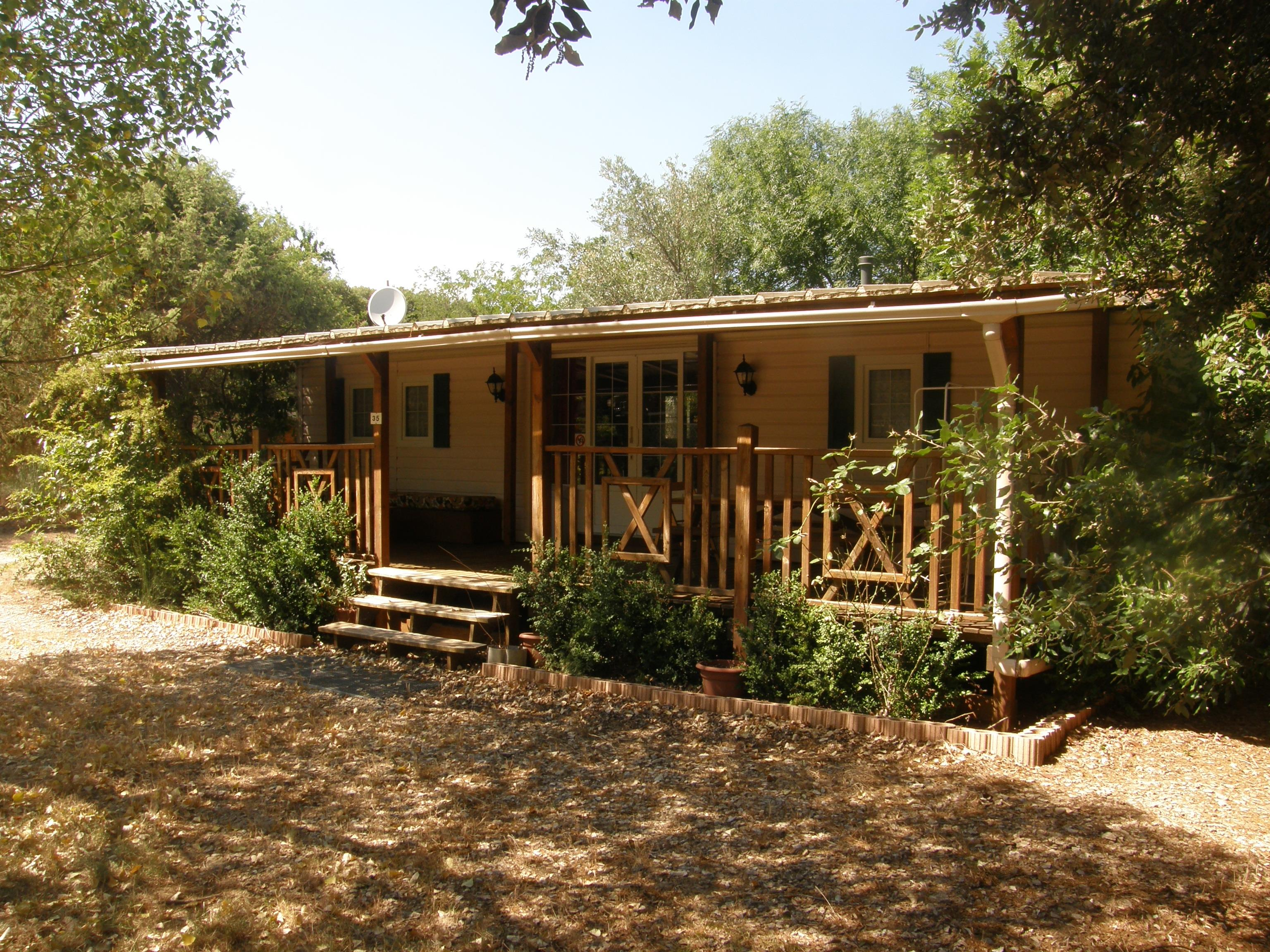 Accommodation - Mobile Home Watipi 40 M² Air-Conditioning 2 Bedrooms - CAMPING LES TRUFFIERES***