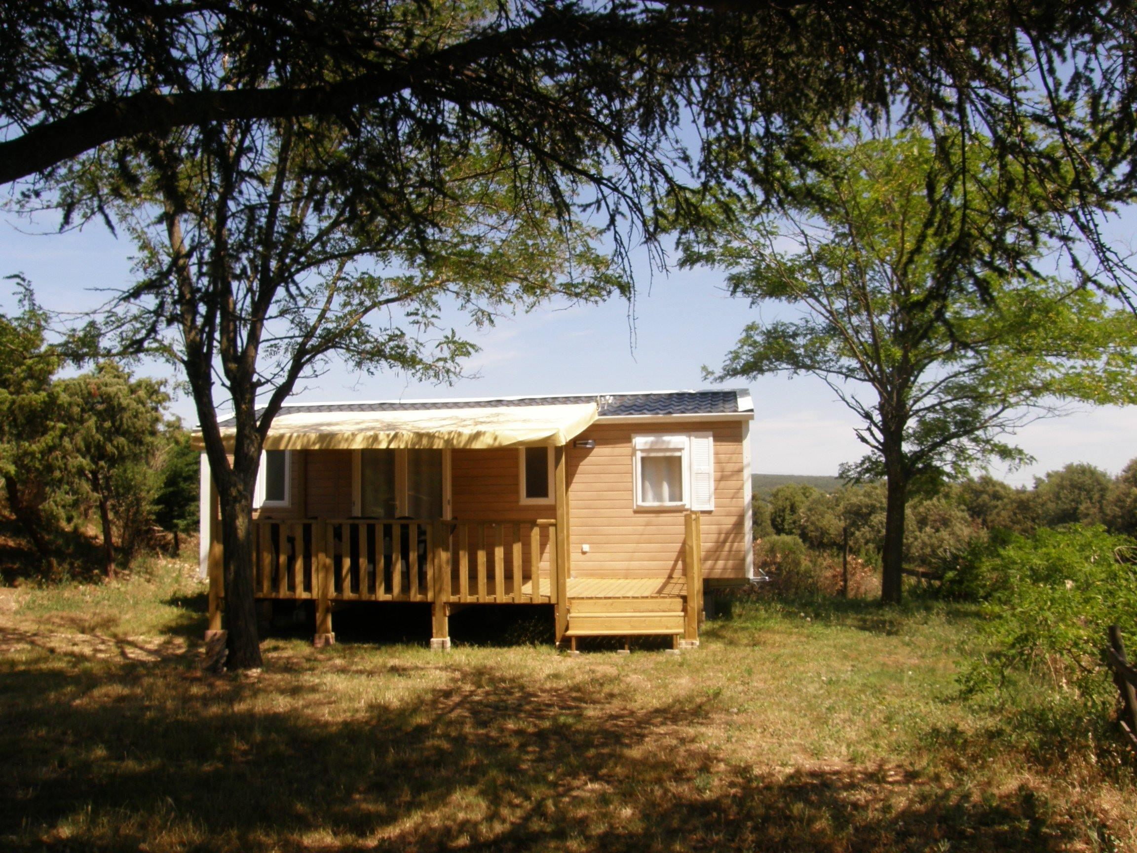 Accommodation - Mobil-Home Evolution 33M² 3 Chambres Climatisé - CAMPING LES TRUFFIERES***