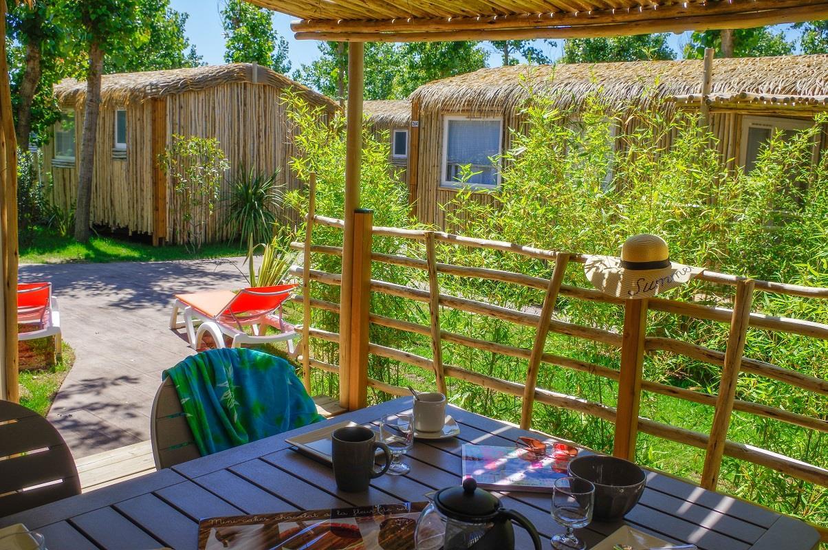 Location - Cottage Signature 4 Pers. - Camping Les Méditerranées Nouvelle Floride