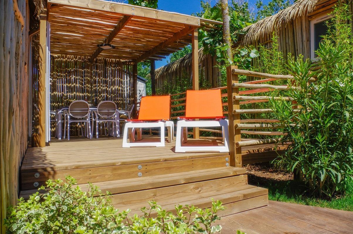 Location - Cottage Signature 6 Pers. - Camping Les Méditerranées Nouvelle Floride