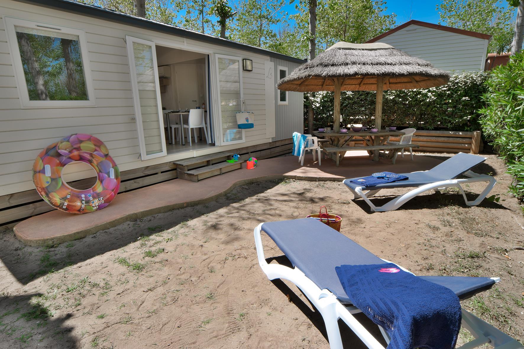 Location - Cottage Cosy 4 Pers. - Camping Les Méditerranées Nouvelle Floride