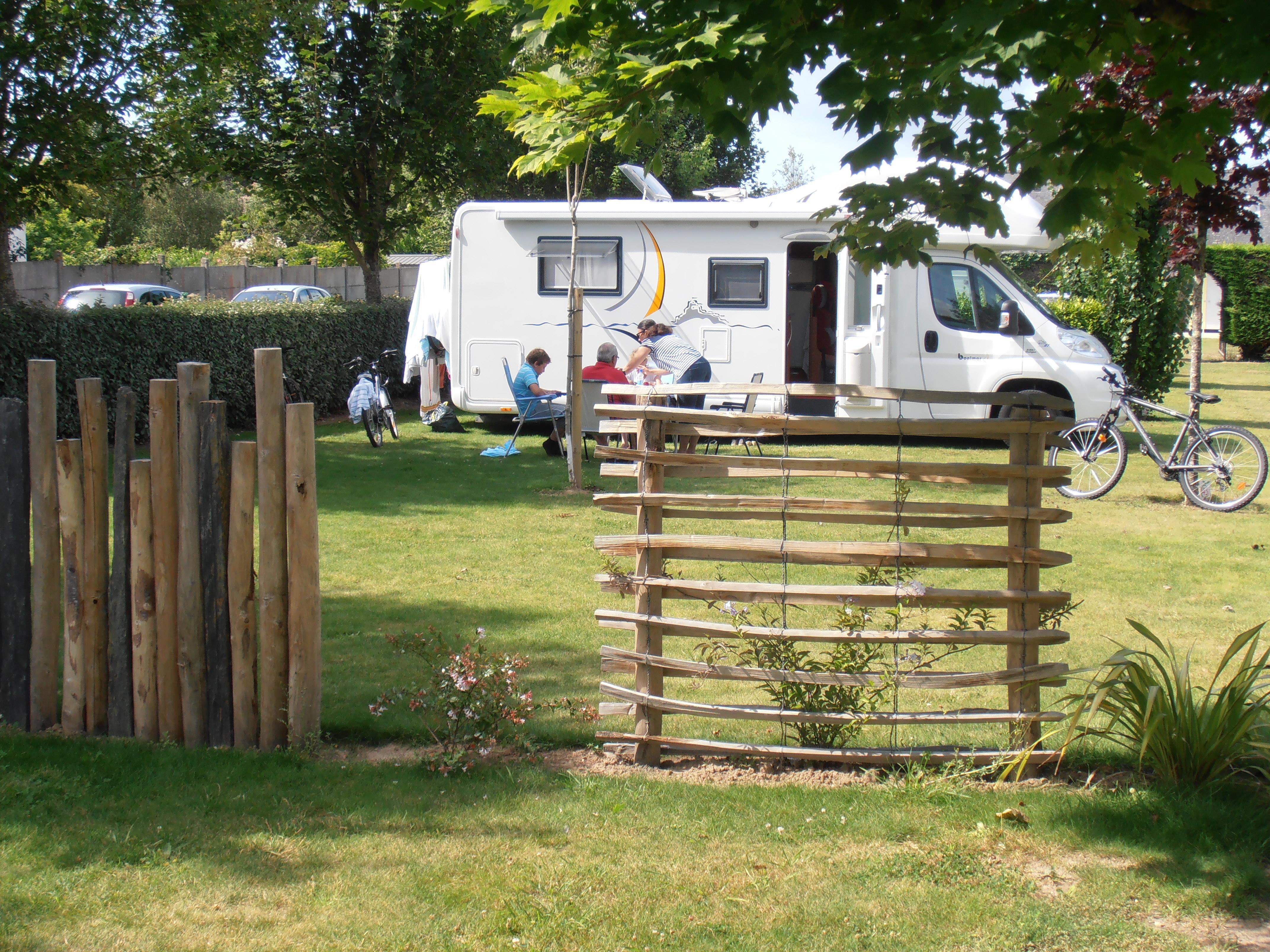 Camping le Vieux Verger-Ty Noul, Nevez, Finistère