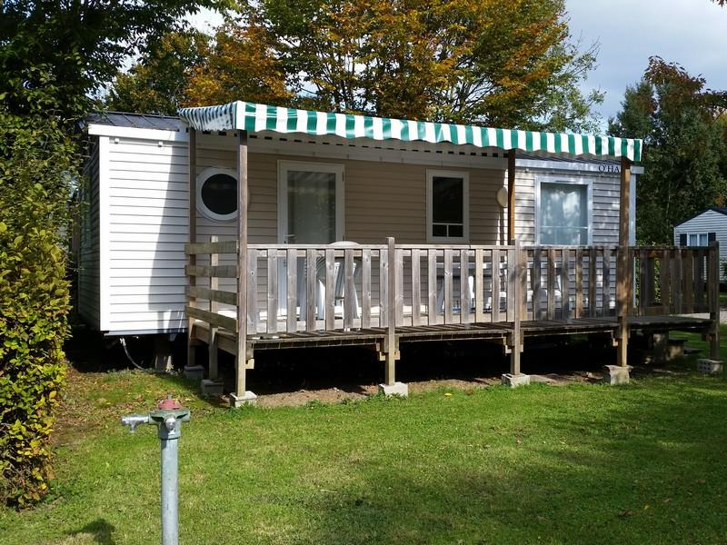Mobil-home Confort 29 m² (3 chambres) + terrasse couverte