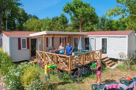 Accommodation - Mobilhome Tribu Top Presta 51M² - Capfun - Domaine des Plantas