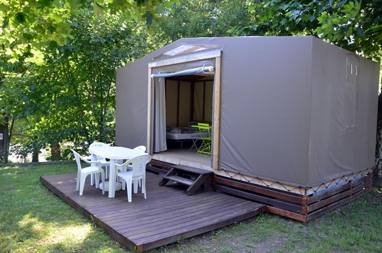 Accommodation - Furnished Tent 20M² - Capfun - Domaine des Plantas