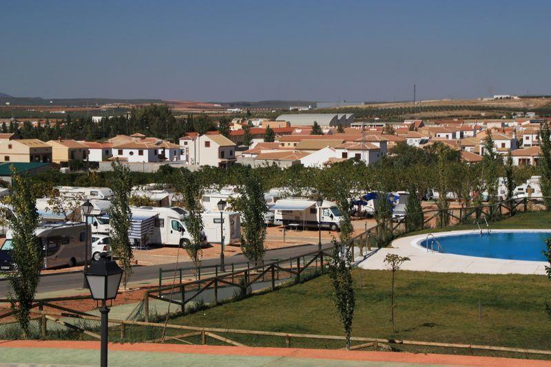 Emplacement - Emplacement Avec Eletricité - Camping La Sierrecilla