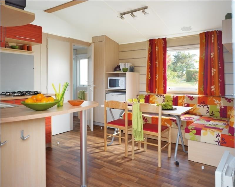 Mobilhome N°12 - 2 Chambres - Terrasse