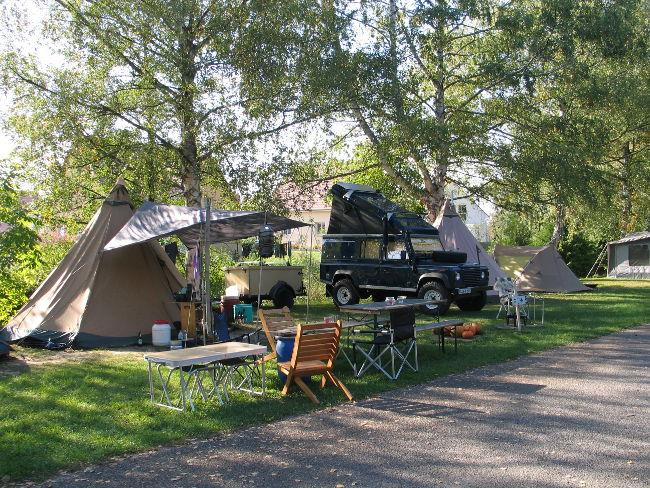 Camp au Clair Ruisseau, Gerstheim, Bas-Rhin