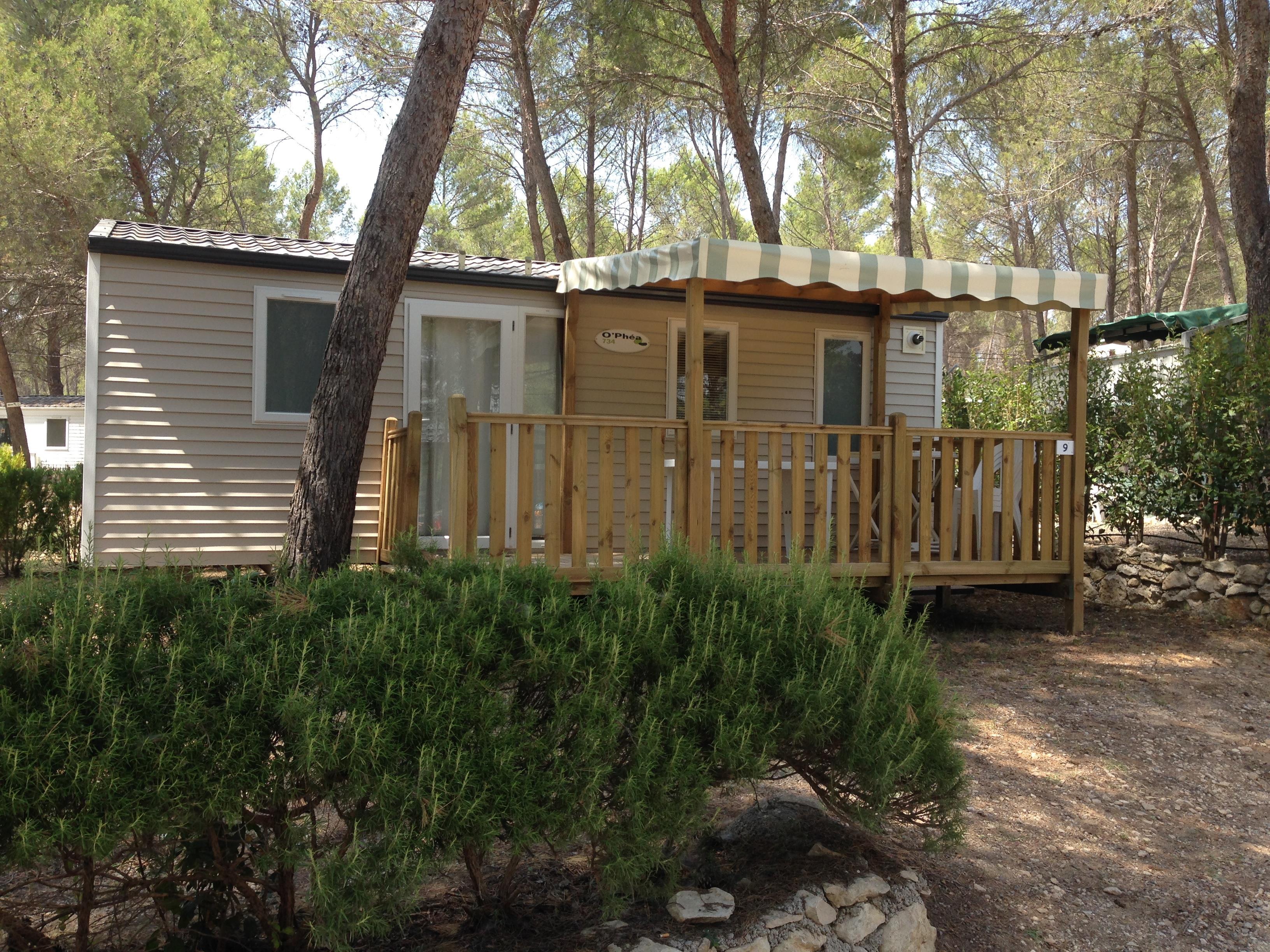 Mobil-home Confort+ 30 m² (2 chambres) option clim