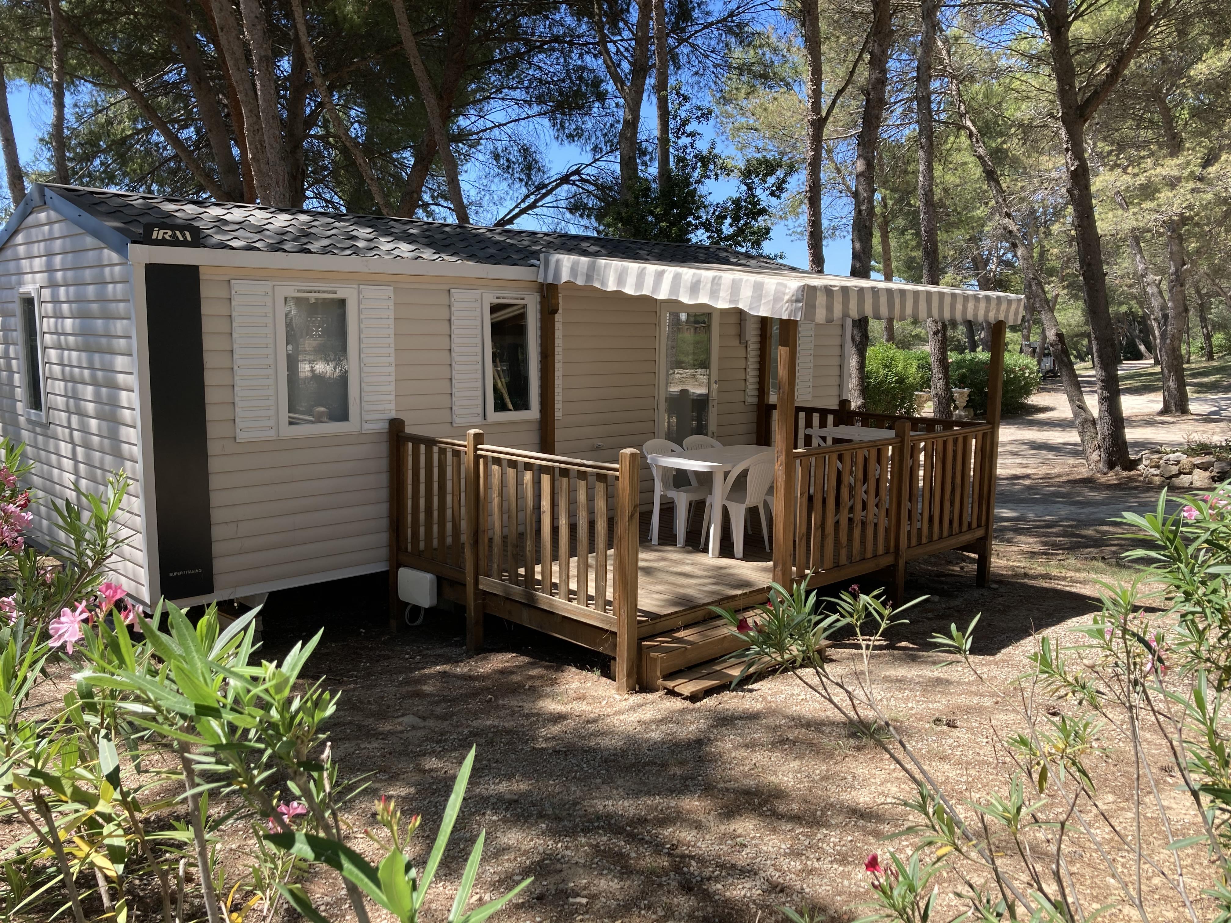 Mobil-home Confort+ 32m² (3 chambres) option clim