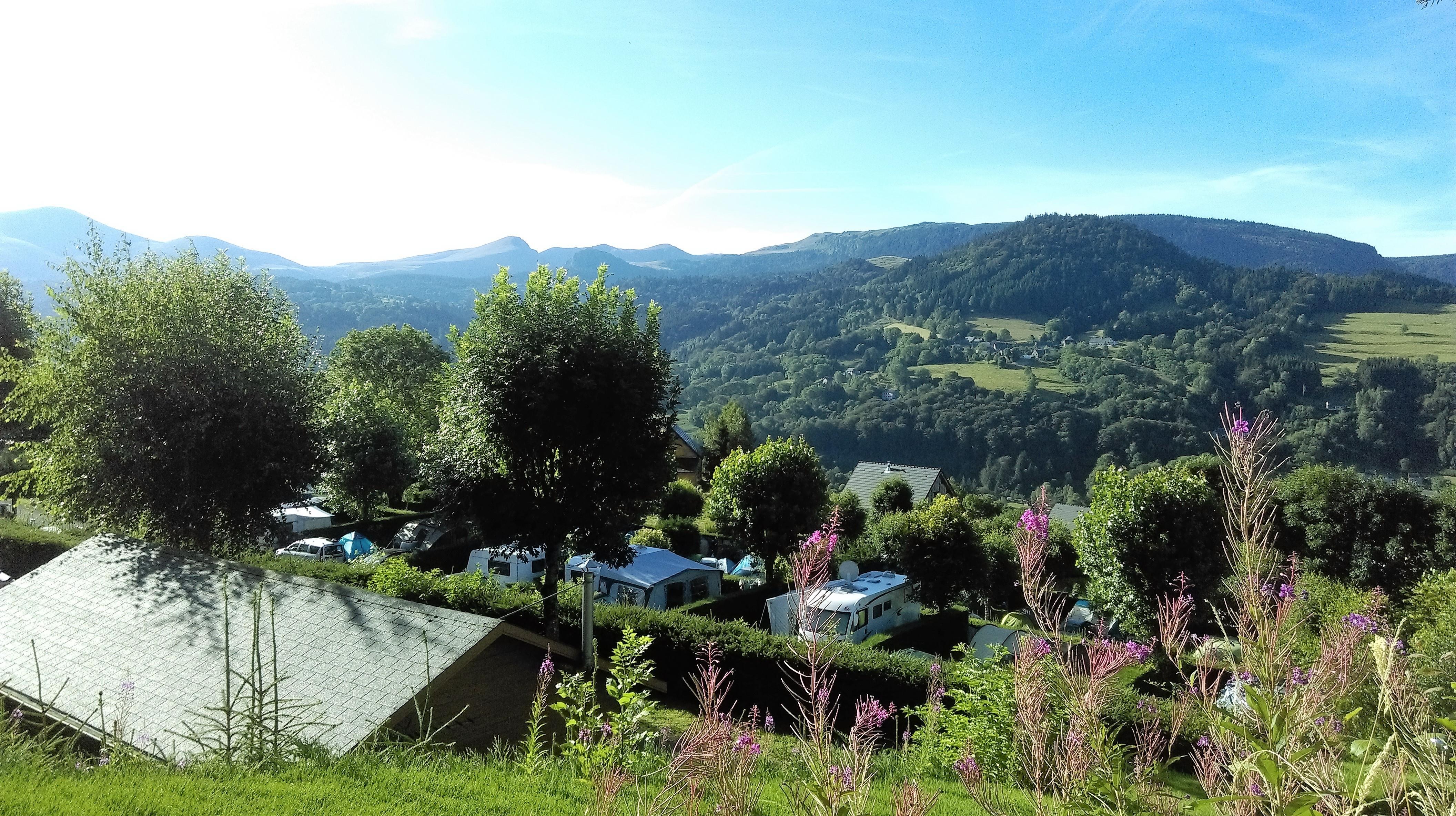 Camping le Panoramique, Murat-le-Quaire, Puy-de-Dôme
