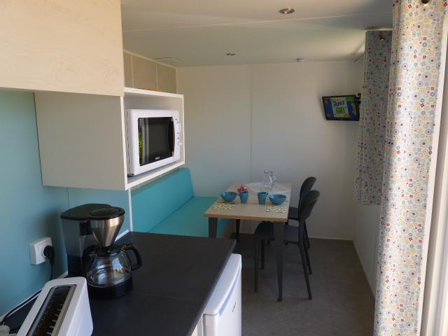 Location - Mobilhome Intime Premium Vue Mer - Camping Locronan