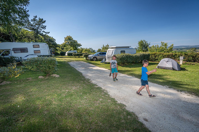 Camping Municipal, Locronan, Finistère