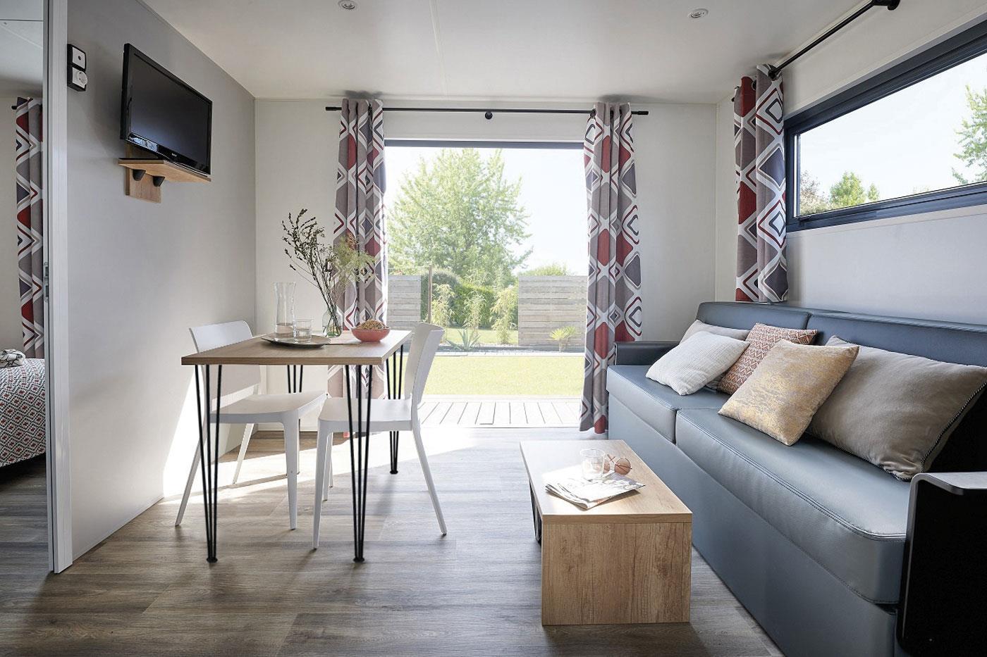 Location - Mobilhome Intime Premium Plus Vue Mer - Camping Locronan