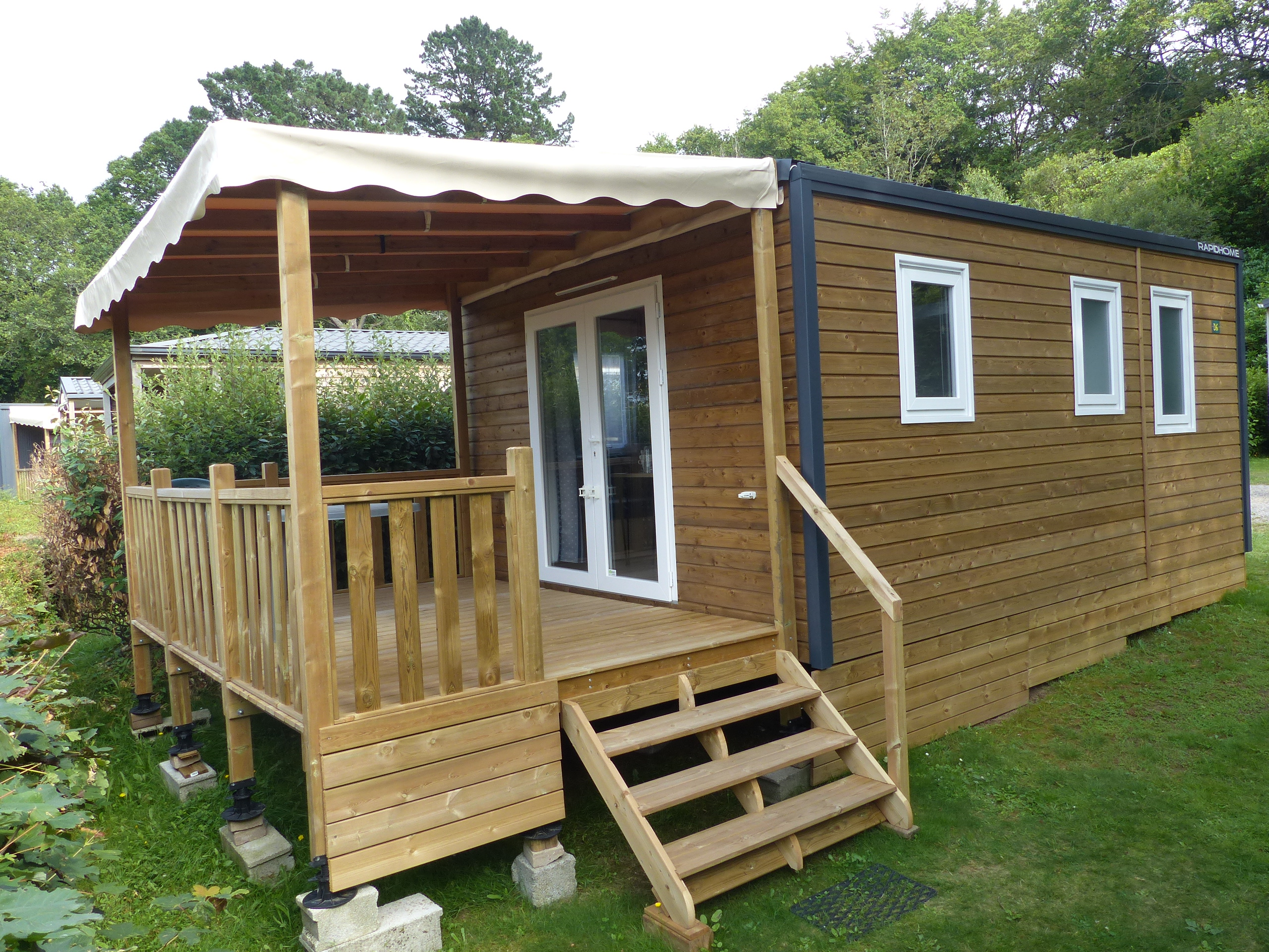 Location - Mobilhome Intime Vue Panoramique - Camping Locronan