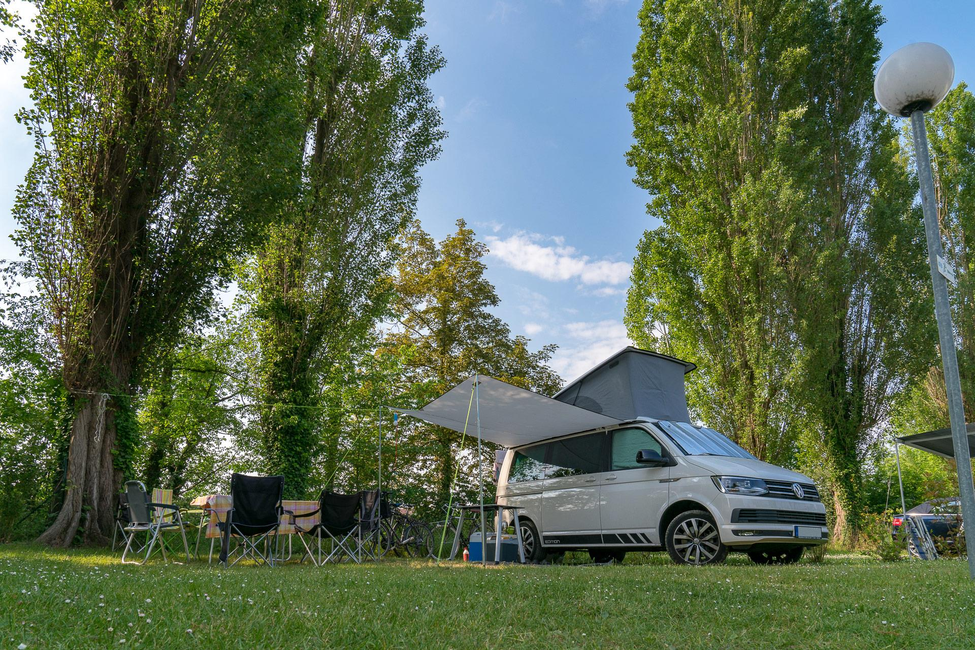 Emplacement - Forfait ** - Camping Sandaya Paris Maisons-Laffitte