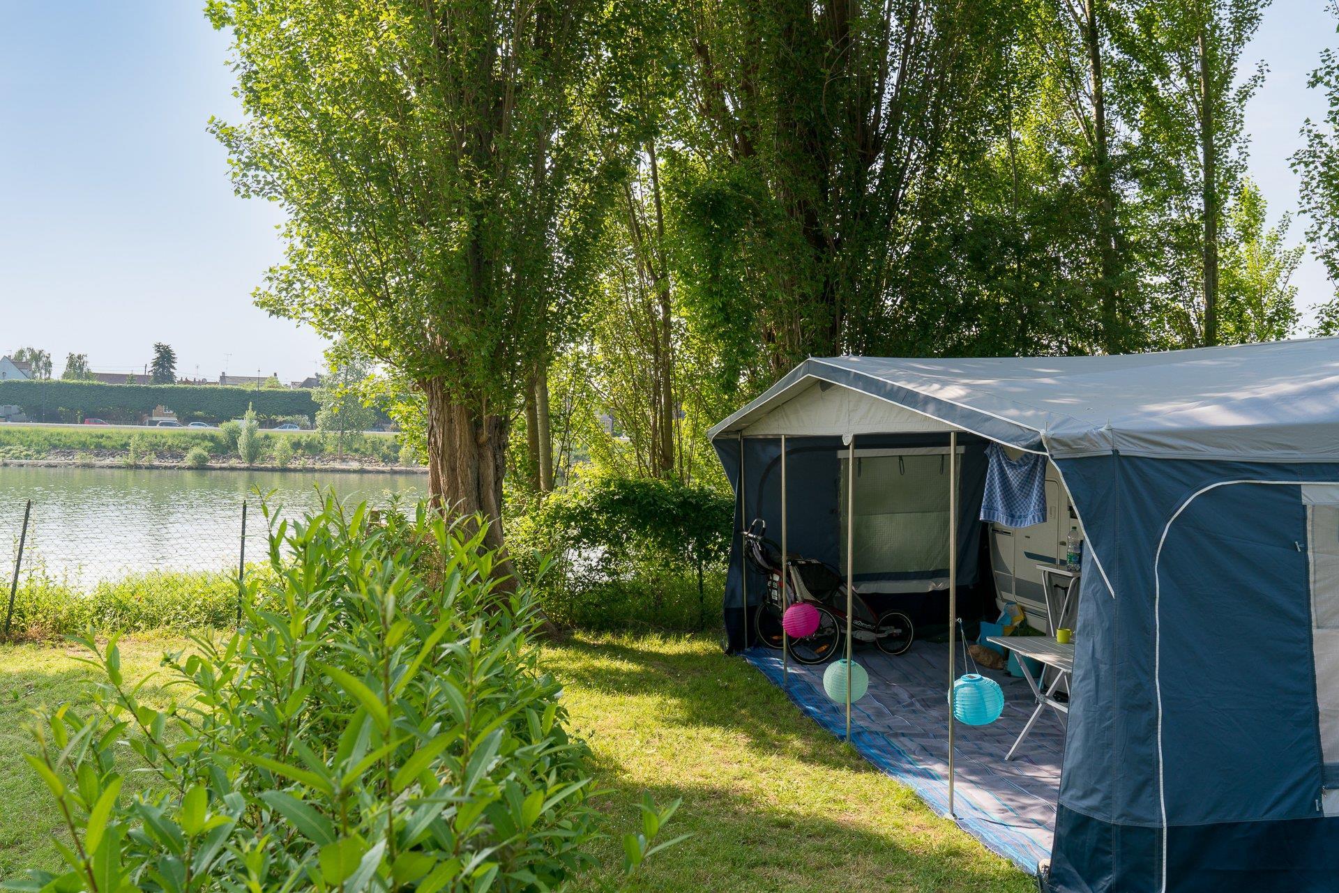 Emplacement - Forfait Bord De Seine *** - Camping Sandaya Paris Maisons-Laffitte