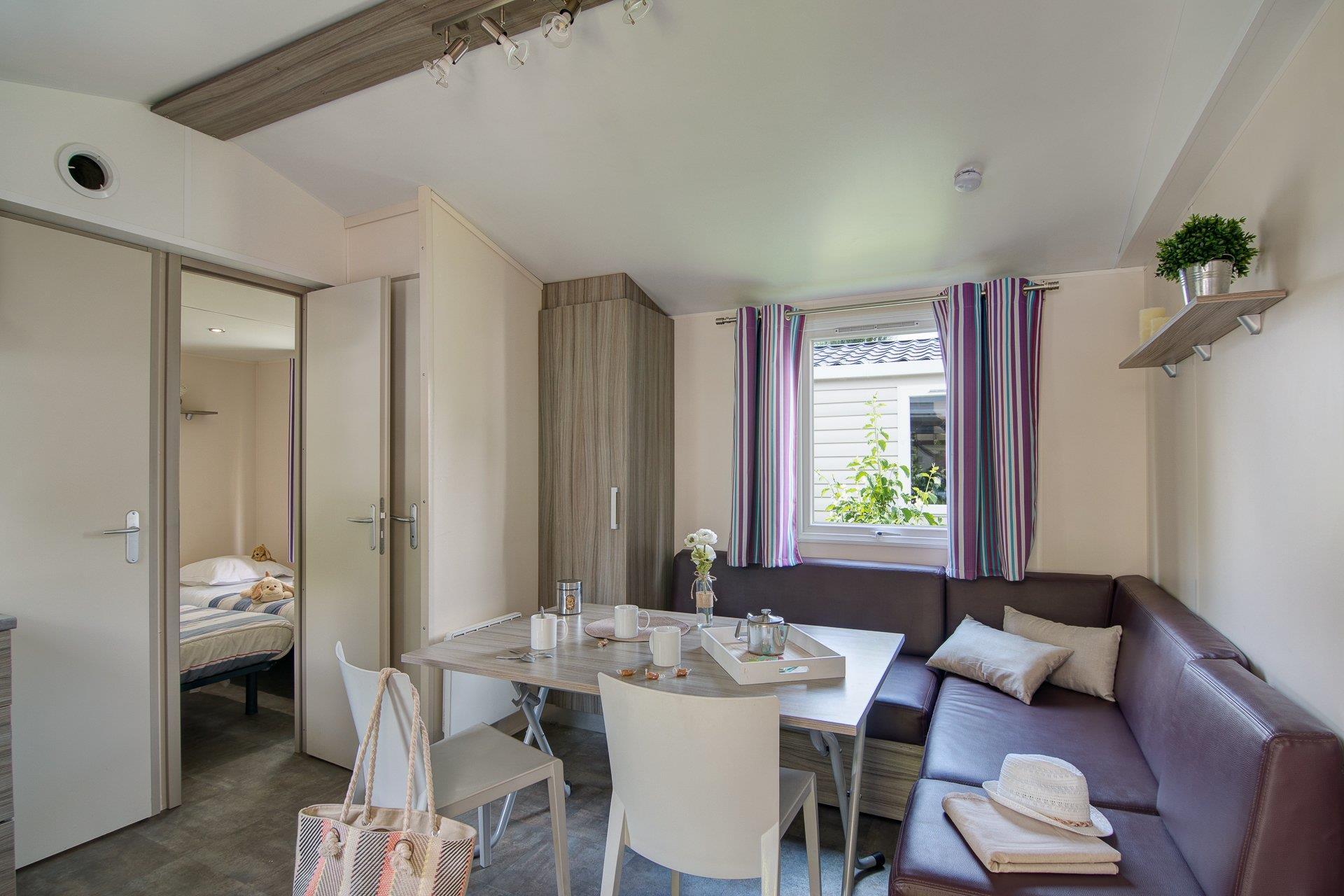 Location - Cottage 3 Chambres ** - Camping Sandaya Paris Maisons-Laffitte