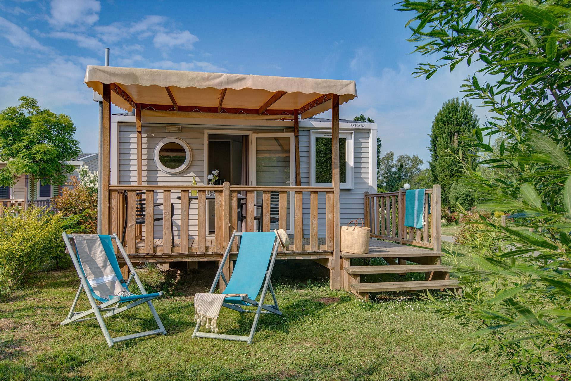 Location - Cottage 1 Chambre **** - Camping Sandaya Paris Maisons-Laffitte