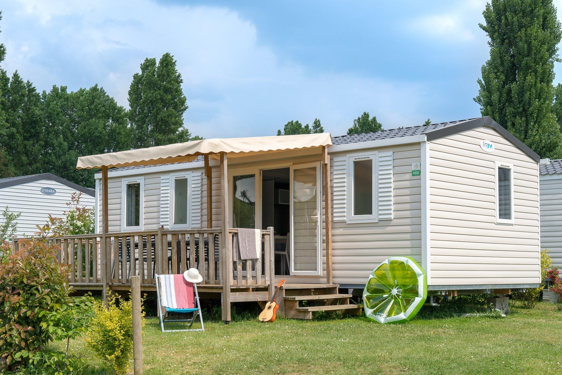 Location - Cottage 3 Chambres *** - Camping Sandaya Paris Maisons-Laffitte